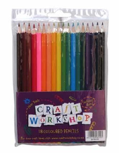 COLOURED PENCILS 18PK