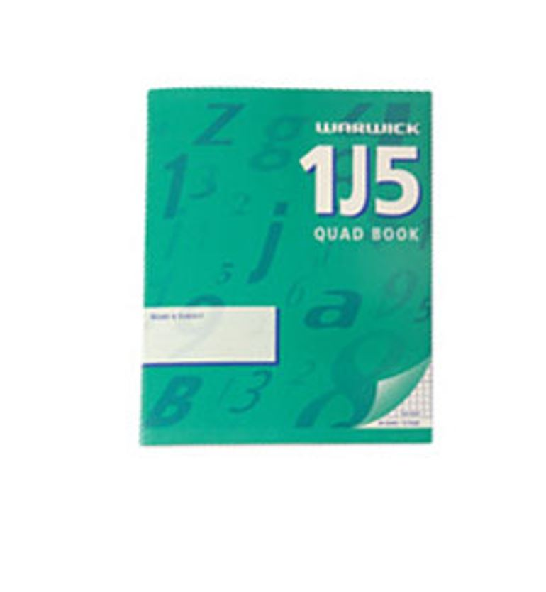 EXERCISE BOOK 1J5 MATH 5MM