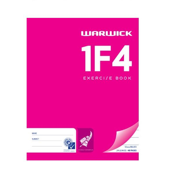 1F4 EXERCISE BOOK