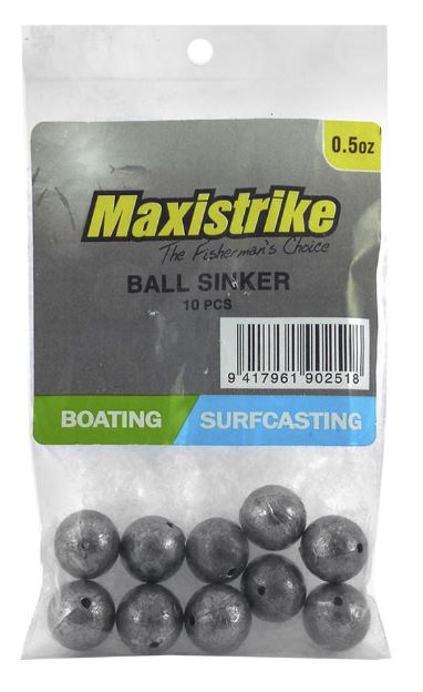 Maxistrike Ball Sinker .50oz (12 Per Pack)