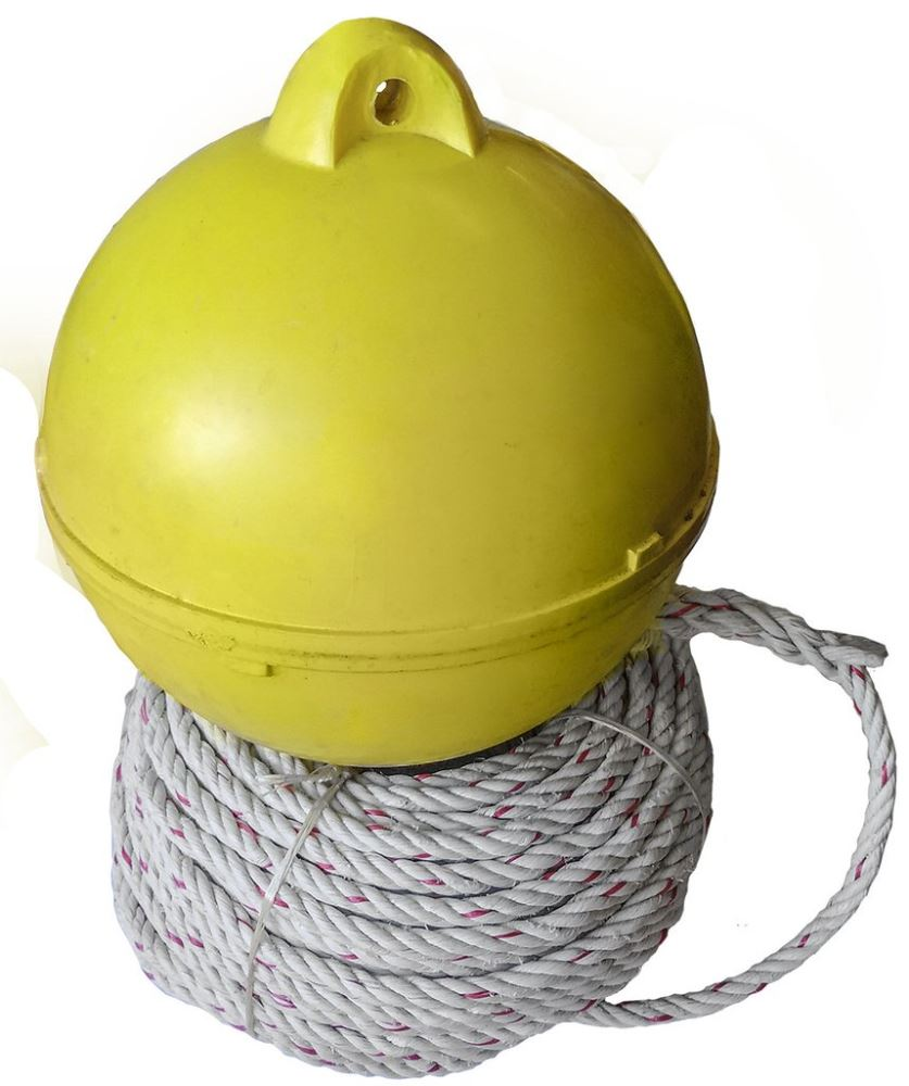 ROPE AND PLASTIC FLOAT PACK 30M