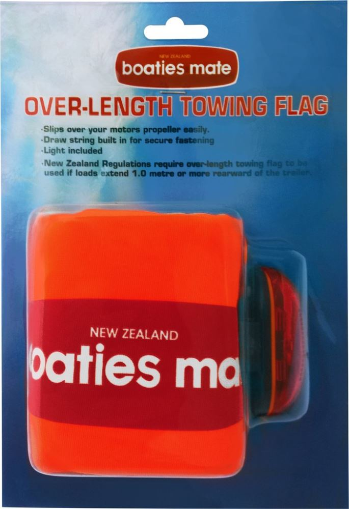 BOATIES MATE OVER-LENGTH TOWING FLAG