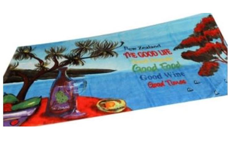 BEACH TOWEL - THE GOOD LIFE
