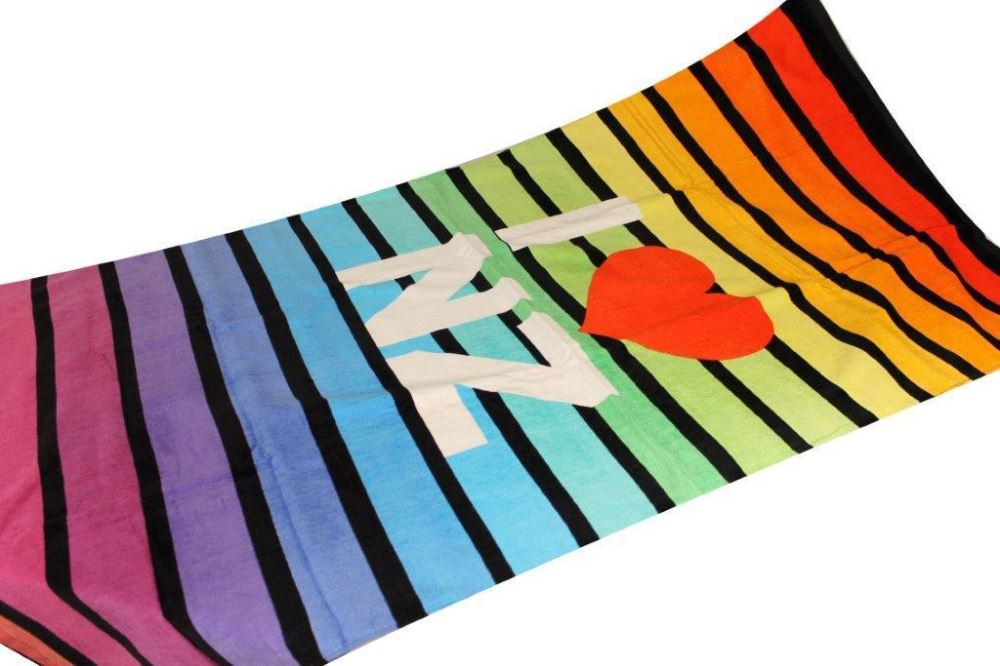 BEACH TOWEL - FUN I HEART NZ
