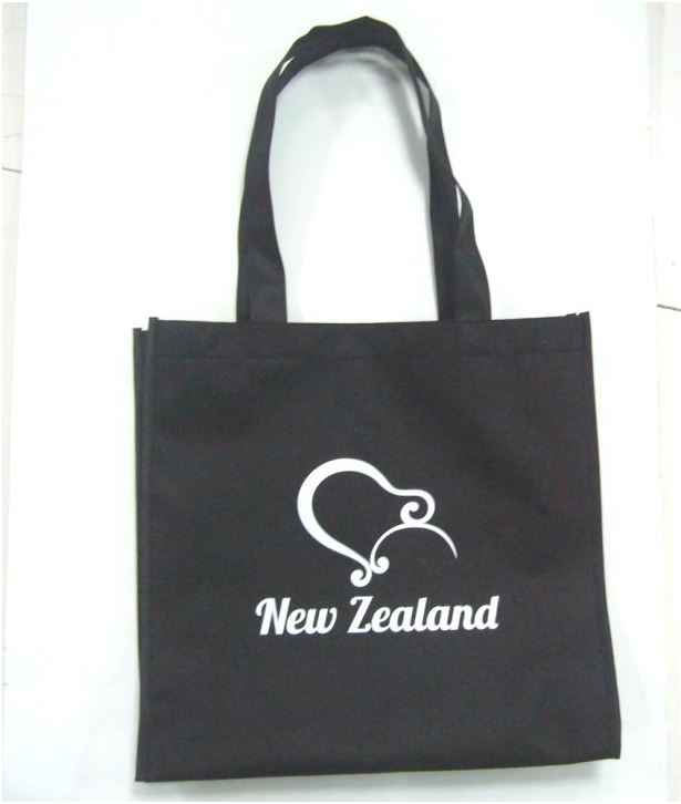 BLACK KIWI SHOPPING BAG