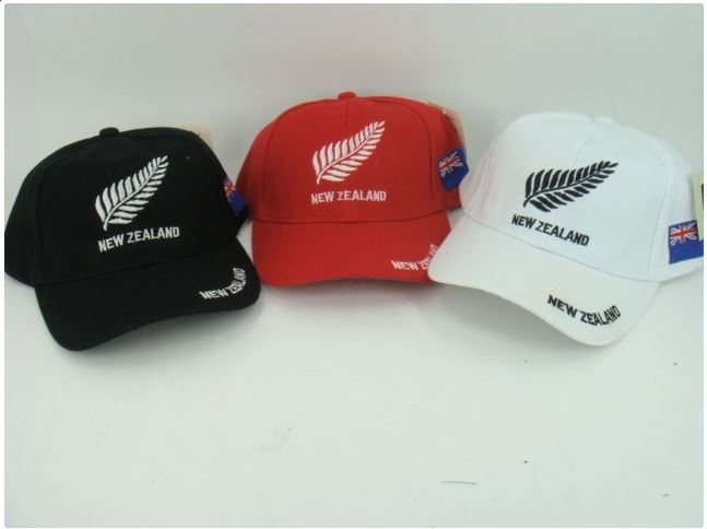 NZ CAP SILVER FERN ASST COLOURS