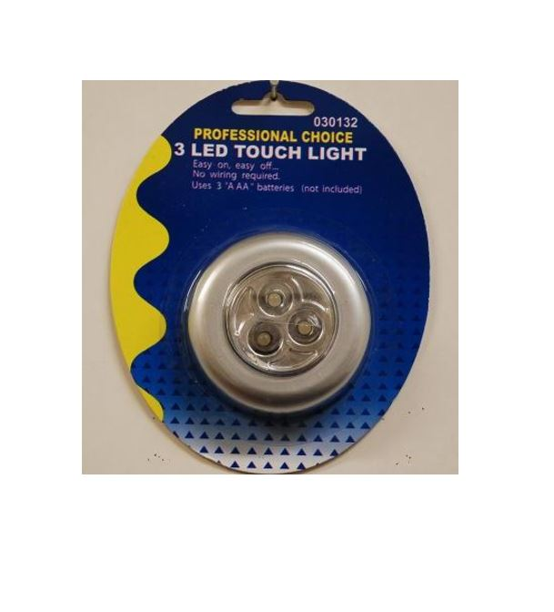 3 Led Round Touch Light