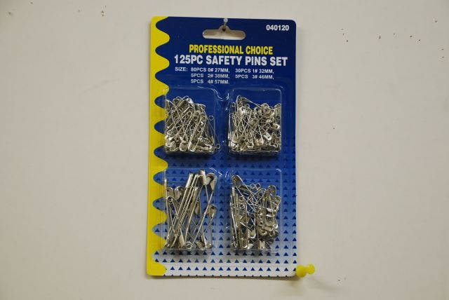 Safety Pins Asst