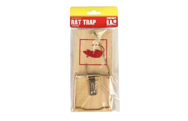 WOODEN RAT TRAP LARGE