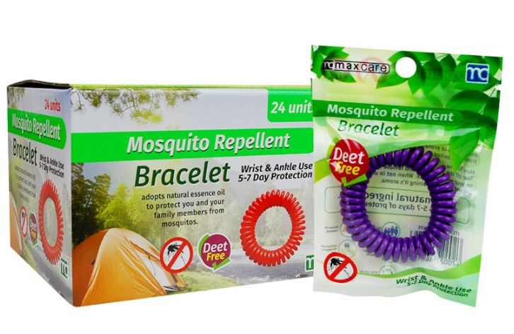 MOSQUITO REPELLENT COILED WRISTBAND