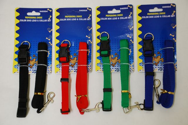 Dog Lead And Collar Set