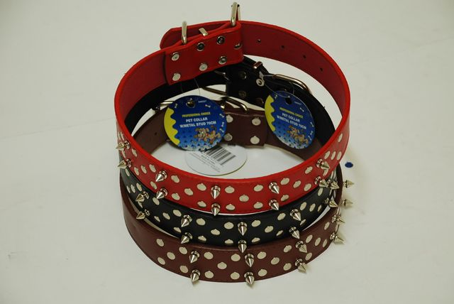 Pet Collar With Studs 70Cm