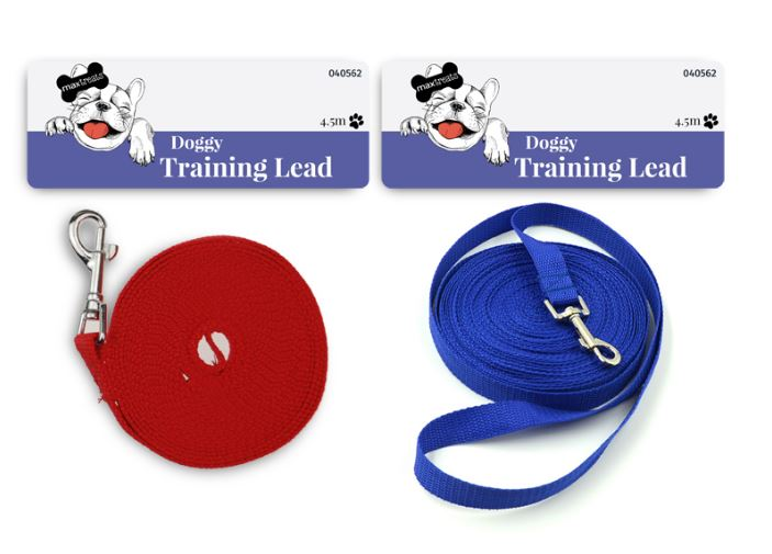 Max Treats Dog Training Lead 4.5m