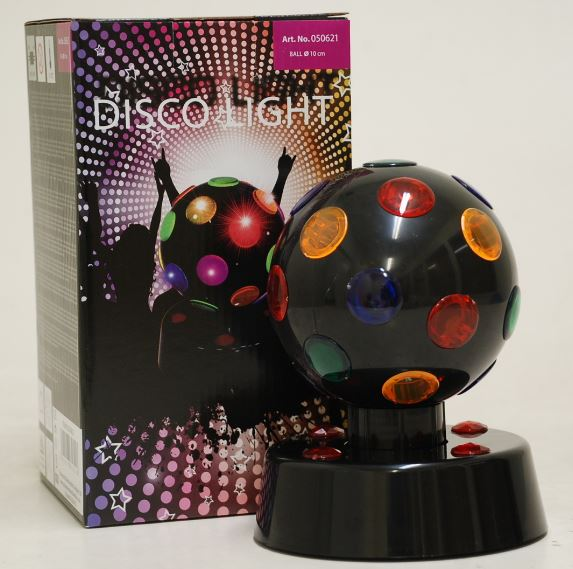 DISCO LIGHT 4 BLACK