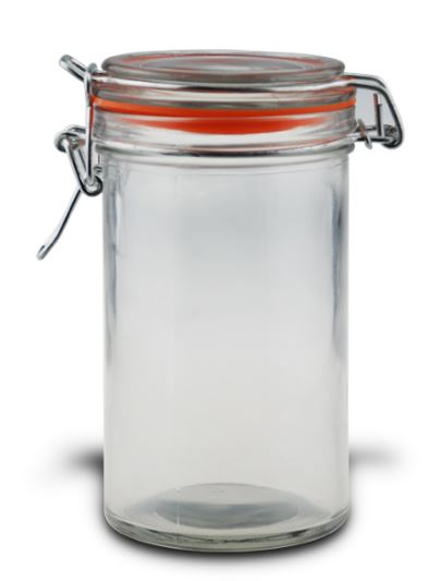 MAX Brand Clip Lid Storage Jar 430 ml