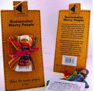 Worry Doll W/Bag