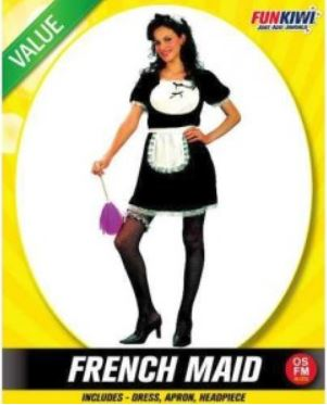 FRENCH MAID COSTUME - VALUE - ADULT