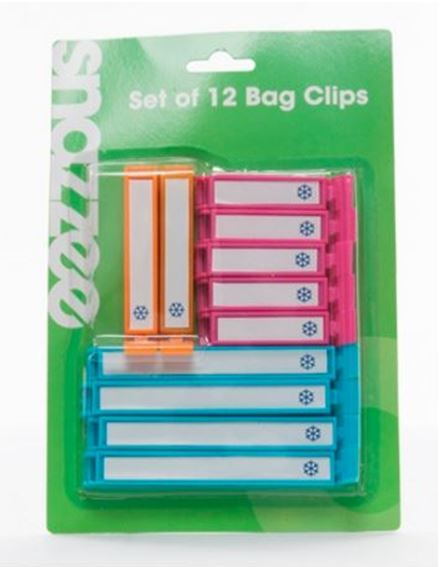 Snazzee Bag Clips - 12pk