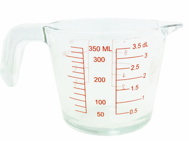 350ML GLASS MEASURE JUG