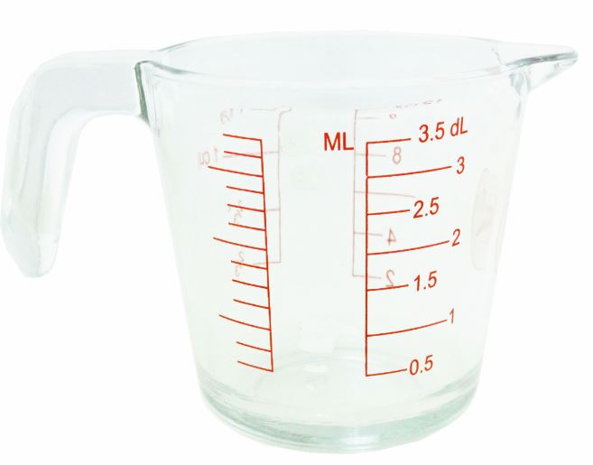 500ML GLASS MEASURE JUG