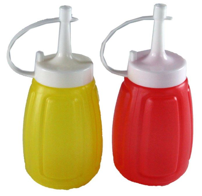 Snazzee Sauce Bottles Mini 2 Pack