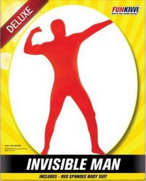 INVISIBLE MAN RED