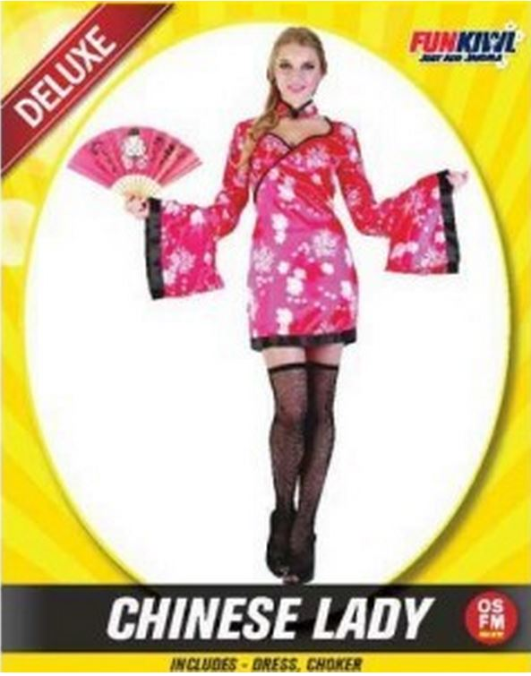 CHINESE LADY COSTUME - DELUXE - ADULT