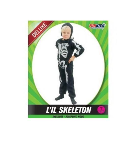 LIL SKELETON COSTUME - DELUXE - TODDLER