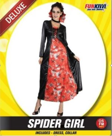 COSTUME SPIDER GIRL