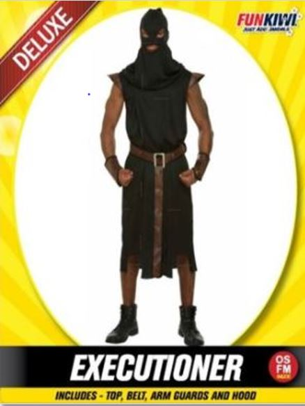 EXECUTIONER COSTUME - DELUXE - ADULT