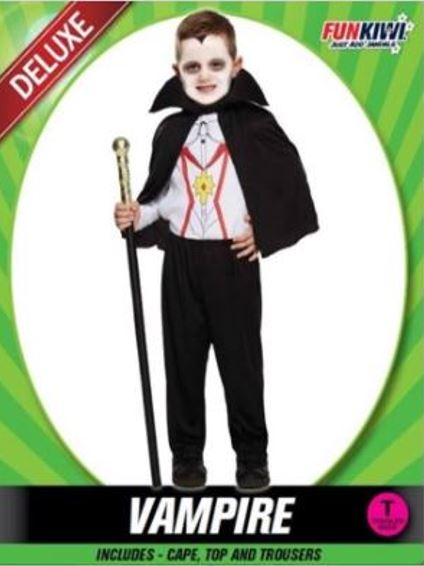 LIL VAMPIRE COSTUME - DELUXE - TODDLER