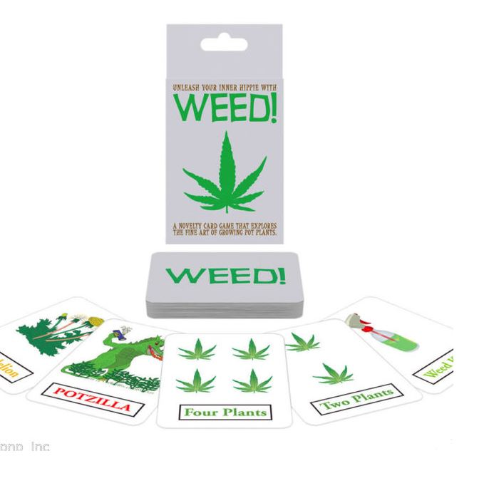 Weed! The Card Game - Super Fun, Great game for the Flat!