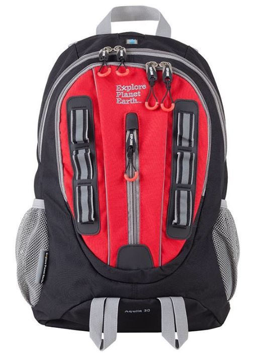 E.P.E Aquila 35L Daypack Black/Red