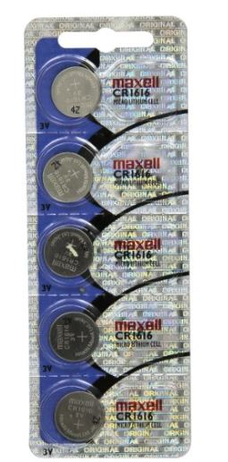 Maxell Battery - CR1616 Lithium