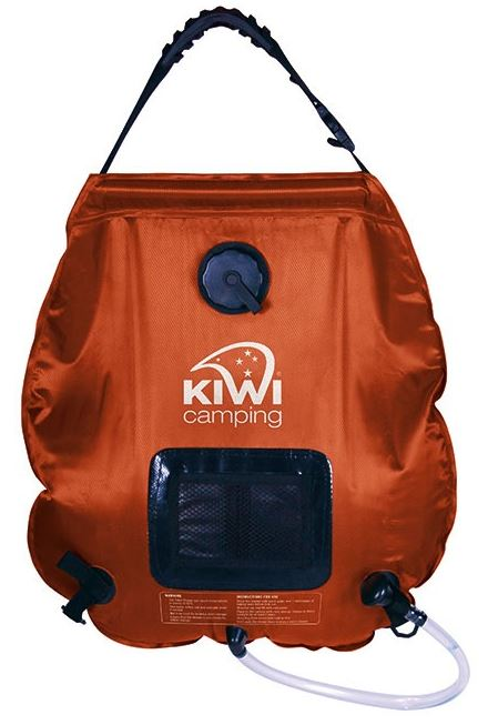 Kiwi Camping 20L Deluxe Solar Shower
