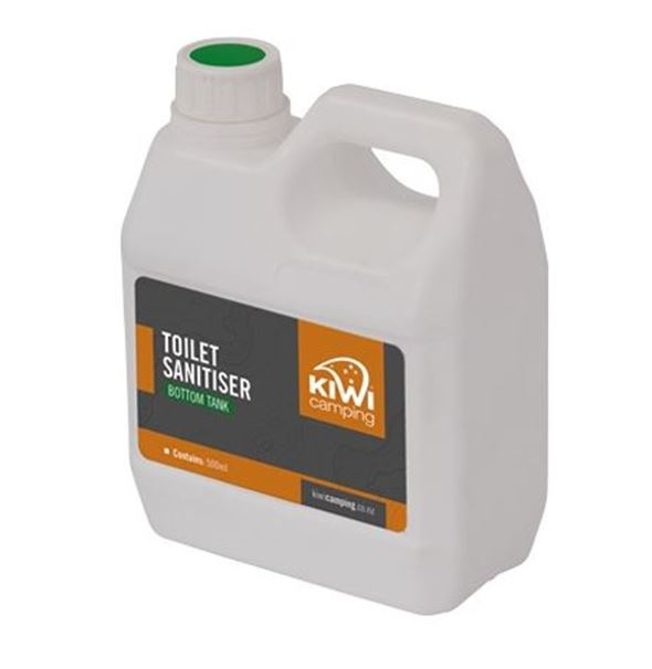 Kiwi Camping Toilet Chemical - Bottom Tank - Green 500ml