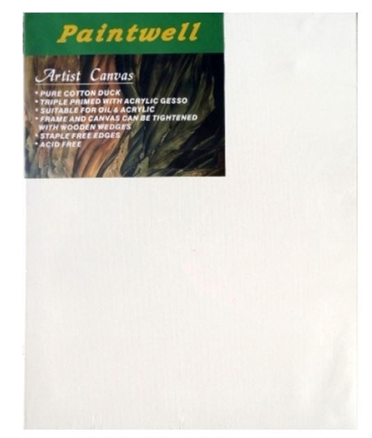 Paintwell Student Canvas 12X16'' X 38mm