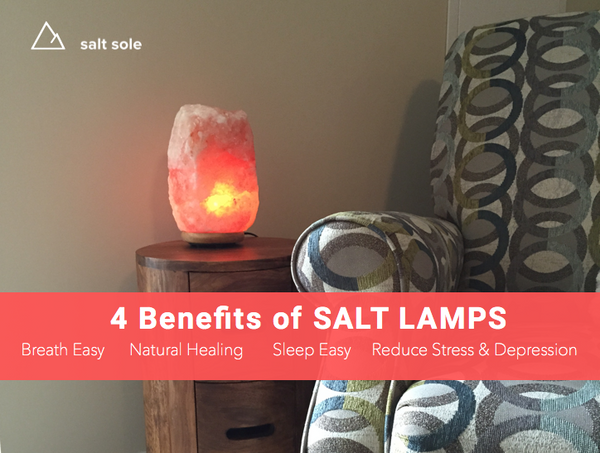 4 Benefits of Salt Lamps - so beautify and so many health benefits
