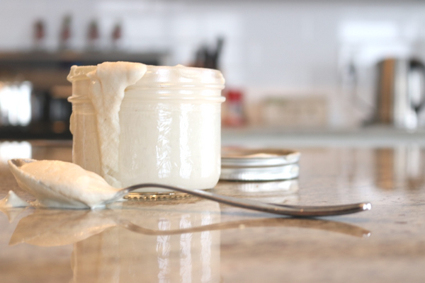Creamy Dairy-Free Cashew Sour Cream -Yes its those magical raw cashews again.  Hard to believe I know but raw cashews + four ingredients = sour cream.