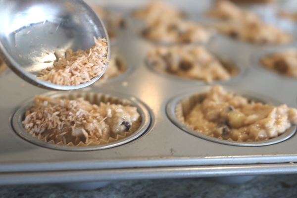 Kid Friendly Gluten Free Mini Chocolate Chip Muffins