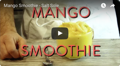 Mango Smoothie - This is a nice thick tropical dairy free smoothie that we eat with a spoon, we tell ourselves its ice cream, but we think it tastes even better