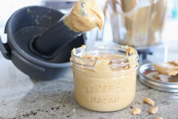 One Ingredient Creamy Natural Peanut Butter - this is the simplest recipe ever.  All you need is a high speed blender unsalted dry roasted peanuts.  You can do this.