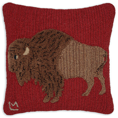 Pillow | 18x18 | Plush Buffalo