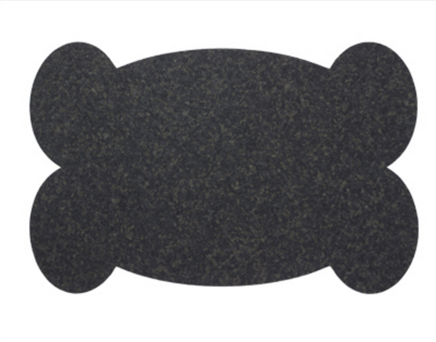 Black Cork Pet Mat