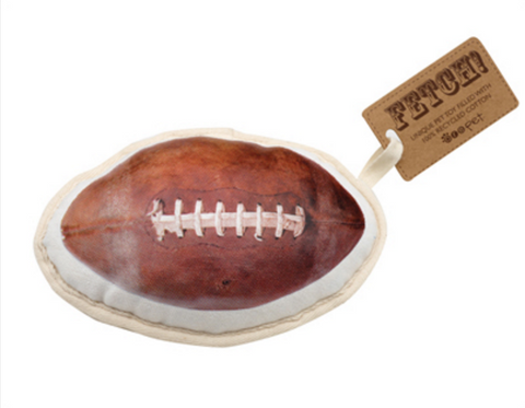 Football Canvas Dog Toy