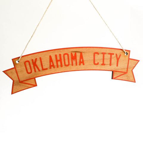 Oklahoma City Ornament