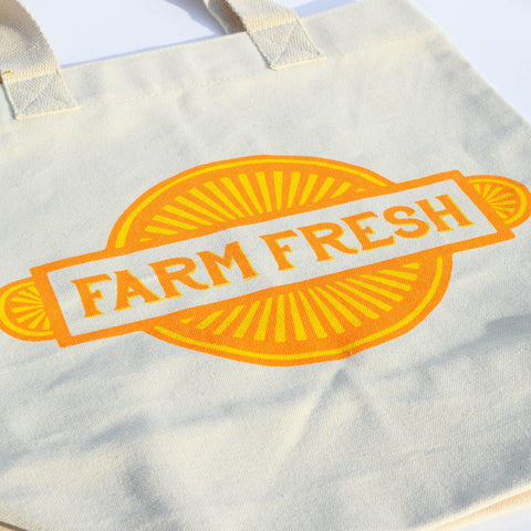Farmer Market Tote, Farm Fresh