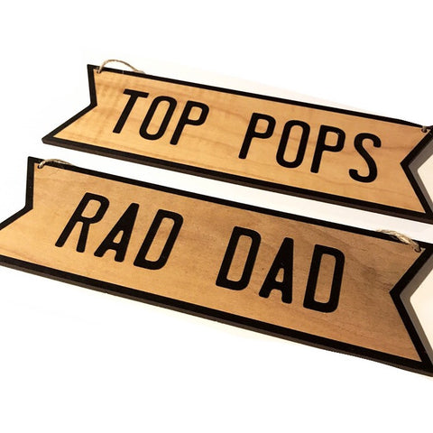 Wall Sign | Top Pops