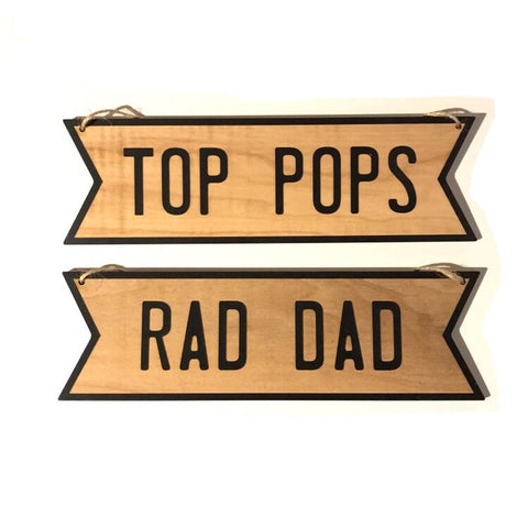 Wall Sign | Rad Dad