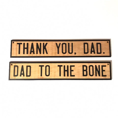 Wall Sign | Dad To The Bone